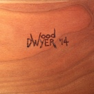 I use pyrography to hand sign each piece.