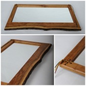 Can be hung horizontally or vertically.