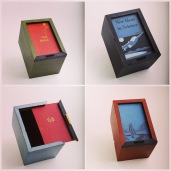 Other milk paint book cover boxes in different colours.