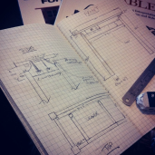 Crafting the design, dimensions and joinery.