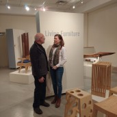 Chatting with the exceptionally talented woodworker and curator, Stephen Zwerling.