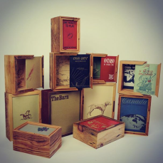 The book boxes were, as always, well received, loved and conjured up many memories and stories.